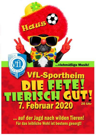 plakat_viehmäääässsig_Hausball VfL 2020